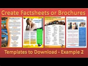 make brochure how to make brochures in microsoft word