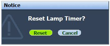 reset samsung dlp l timer 3 steps to a new benq mp515 projector l dlp l