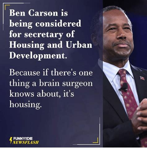 who is the secretary of housing and urban development funny ben carson memes of 2017 on sizzle america