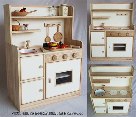 Handmade Wooden Play Kitchen - pin by keely on playrooms play areas