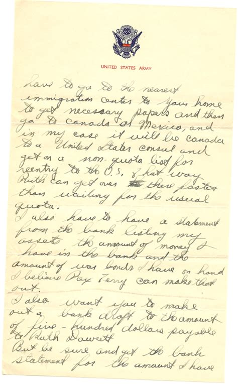letters home from ww2 images