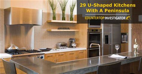 Ideas For Small Kitchens - 29 u shaped kitchens with a peninsula