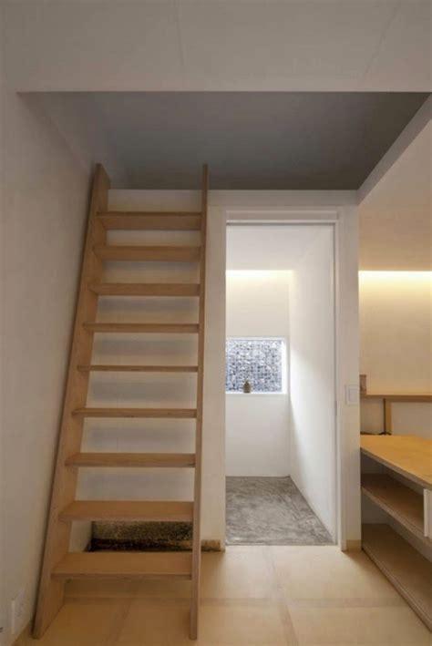 desain simple tangga loteng kayu desain rumah griya