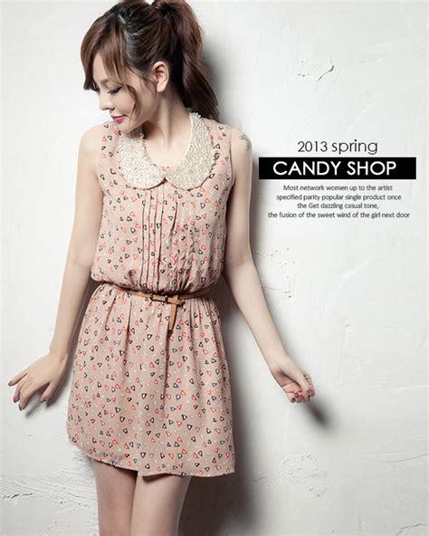 dress wanita lucu lengan buntung model terbaru jual