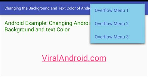 html tutorial text color how to change the background and text color of android
