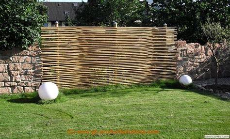 Moderner Sichtschutz Für Den Garten 928 by Idee Hecke Garten
