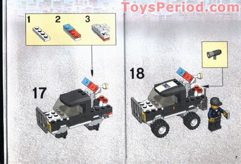 Murah Lego World City 7032 4wd And Undercover lego 7032 highway patrol and undercover set parts inventory and lego