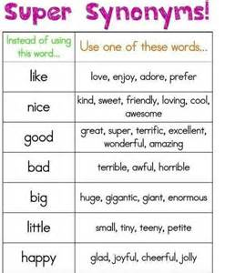 Useful Synonyms Synonyms Why Don T You Try To Use These New Words