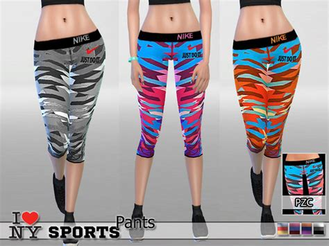 tsr sims 4 clothes sports the sims 4 pzc new york nike sports pants by