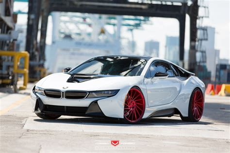 modified bmw i8 vossen i8 duo gives us faith in the modified ev ev
