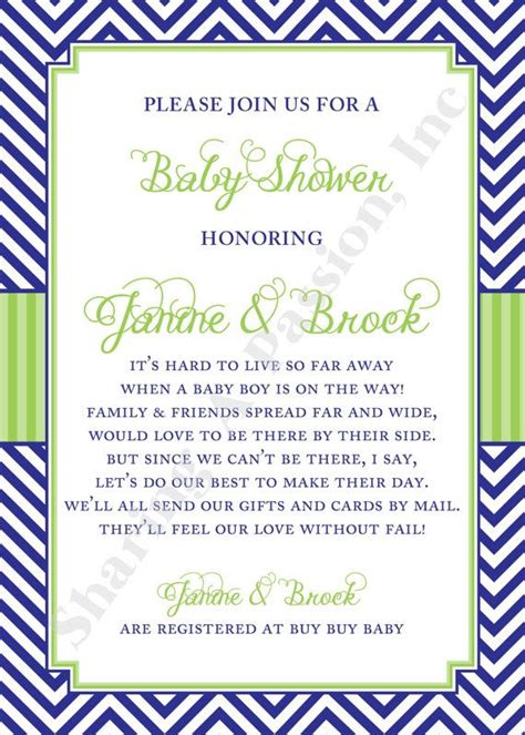 baby shower by mail invitations 17 best ideas about baby shower on