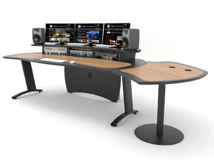 Desk Editor by Aka Design Proedit Desk For Editing Audio Grading Studios