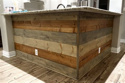 Shiplap On Kitchen Island Gallery American Hill Country Painting And Remodeling