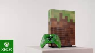 Xbox One Minecraft xbox one s minecraft limited edition gamescom 2017 4k reveal