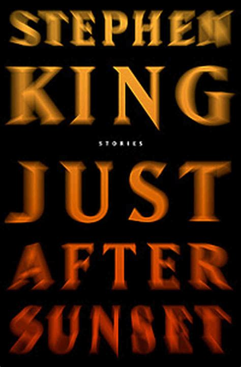 just after sunset macabre master stephen king returns to form npr