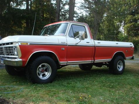 Lone Ford by Me And My Ford 1975 Ford F 100 4x4 The Lone