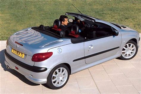 used peugeot 206 cc peugeot 206 coupe cabriolet 2000 2007 used car review