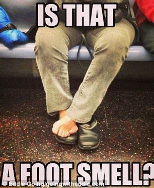 Ugly Feet Meme - bloggers expose the rudest and most disgusting subway