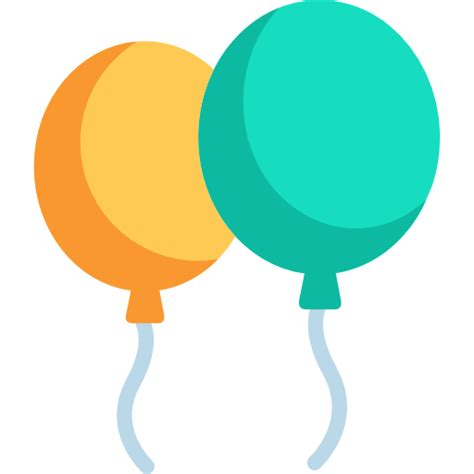 Balloons free birthday and party icons