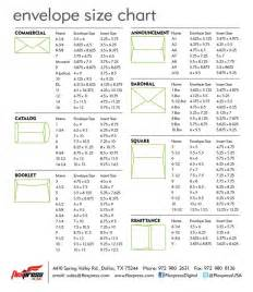 best 25 envelope size chart ideas on