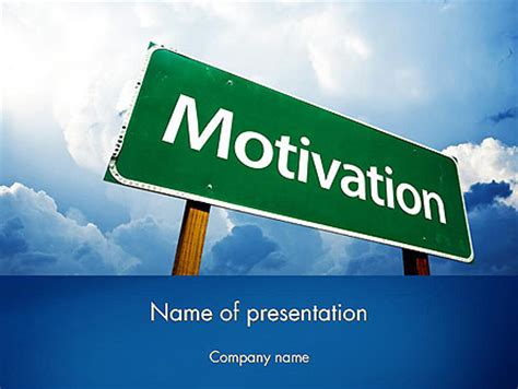 motivation templates for powerpoint free download motivation sign powerpoint template backgrounds 11691