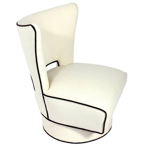 Modern Swivel Armchair by Large Scale Modern Swivel Lounge Chair For Sale At 1stdibs