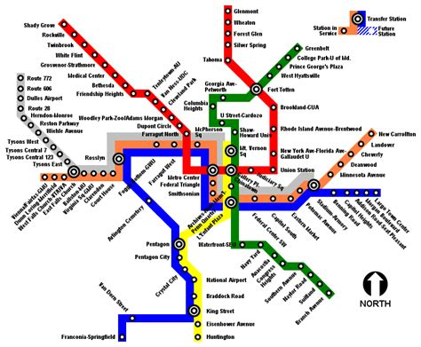 silver line metro map file wmata silver line system map png
