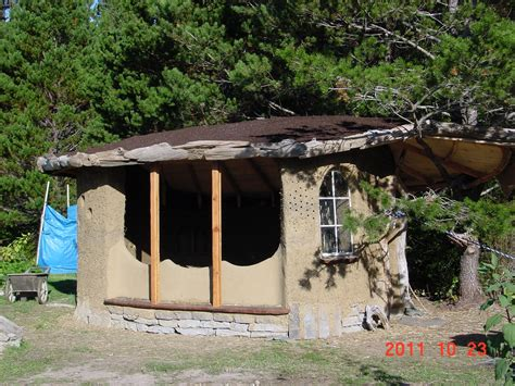 Cob Cottage Company by Pine Nut Front View Cob Cottage Company