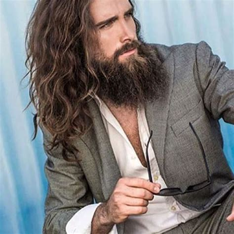 long hairstyles for men with salt and pepper 1000 bilder zu male auf pinterest jared leto david
