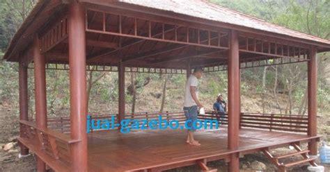 Ranjang Kayu Jati Di Tangerang jual gazebo kelapa jati murah jual kayu kelapa tangerang