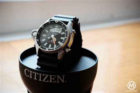citizens dive watches review citizen aqualand promaster the blue collar dive