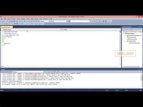 visual studio tutorial in urdu pdf c tutorial in urdu how to create new project in visu