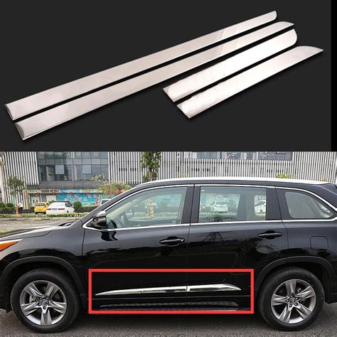 Toyota Highlander Accessories Car Styling Side Trim Auto Accessories For Toyota
