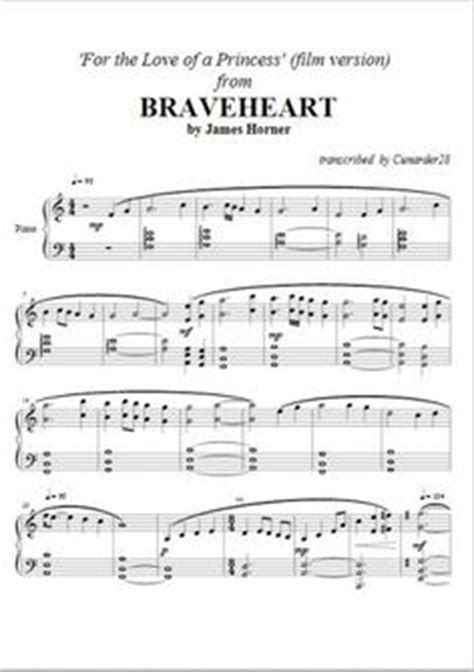 tutorial piano braveheart the mask of zorro james horner love theme piano