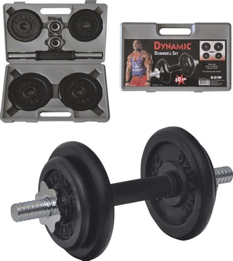 Dumbell Set 10 Kg dynamic 10 kg d 214 k 220 m a苙irlik dumbbell set