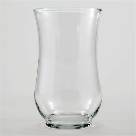 Clear Vase by Clear Glass Angela Vase World Market