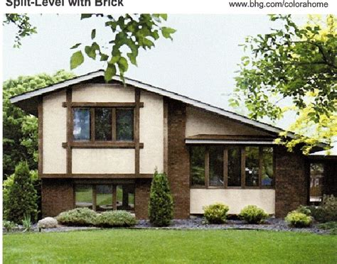 exterior paint brown colors number 4 has a brown roof pink beige and