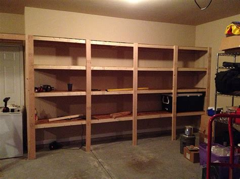 Garage Wood Storage by Ideas Looking For Garage Shelving Ideas To Applay In