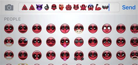 iphone emoji themes how to get deadpool themed emoji on your iphone