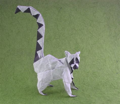 Origami Lemur - origami essence by diaz book review gilad s