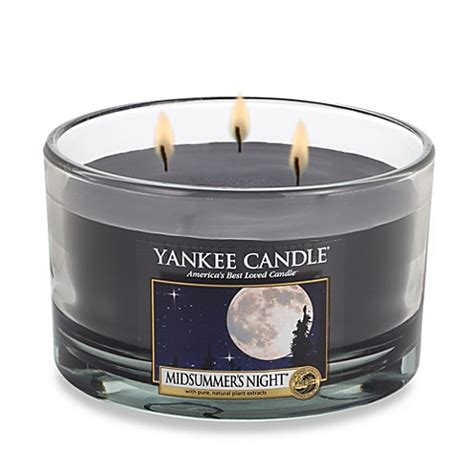 bed bath and beyond candles buy yankee candle 174 housewarmer 174 midsummer s night 174 3 wick