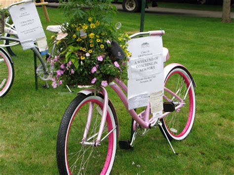 E T Bike Basket by Ellie Mae S Cottage Tour Of The Newport Flower Show Part 1