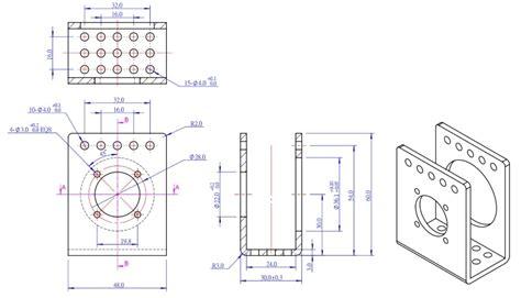 Makeblock 555 High Speed Cnc Motor 24v 10000rpm 36mm motor bracket for makeblock robot kit stem diy electronic robot parts
