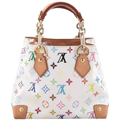 Audra Handbag by Louis Vuitton Audra Handbag Monogram Multicolor At 1stdibs