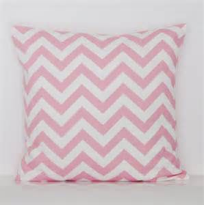 baby pink chevron pillow cover decorative throw accent toss