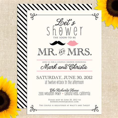 6 Best Images Of Free Printable Bridal Shower Wedding Invitations Wedding Bridal Shower Couples Wedding Shower Invitations Templates Free