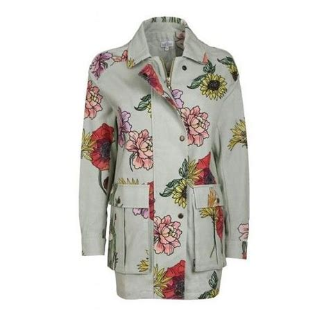 Floral Mint Bomber Jacket 1000 ideas about mint jacket on green leather
