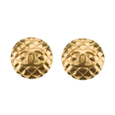 buy vintage chanel jewellery chanel earrings and