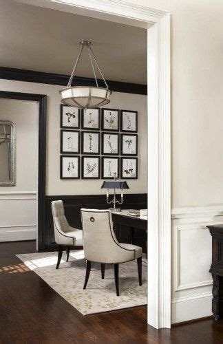 Wainscoting Office by Best 25 Black Wainscoting Ideas On Black