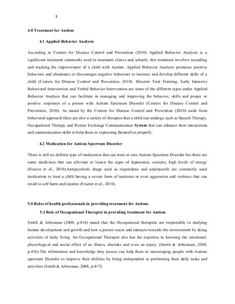 research paper autism autism spectrum disorder research paper